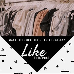 Like This Post To Receive Sale Notifications!